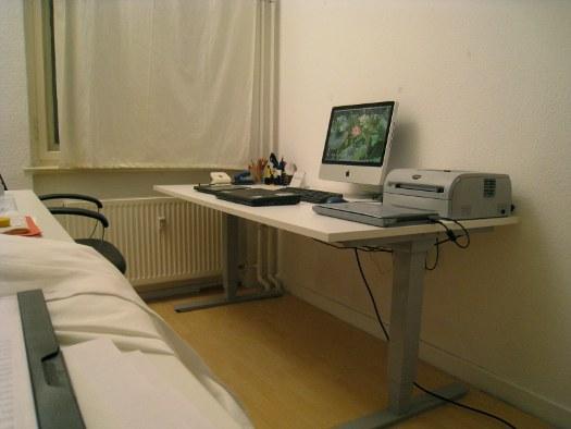 Sitzhöhe - Steh-Stitz Schreibtisch für's Büro | Mini GmbH Blog